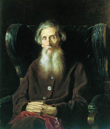 Владимир Иванович Даль. Портрет кисти Василия Перова