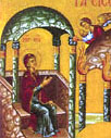 2. The Theotokos is cared for by angels in the Temple of Solomon.