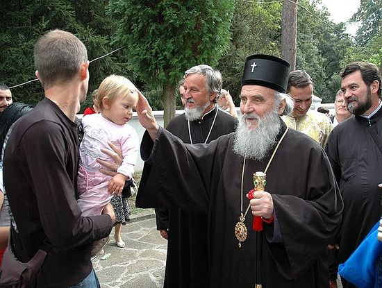 Patriarch Irinej of Serbia. Photo: Fr. Ignatius (Shestakov)