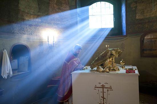 The Divine Liturgy. Photo: M.Rodionov / Expo.Pravoslavie.Ru