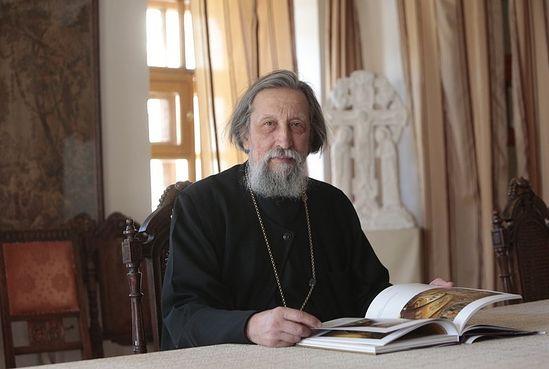 Archpriest Alexander Saltykov.