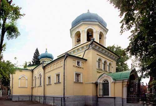 Храм св. Александра Невского, Тбилиси