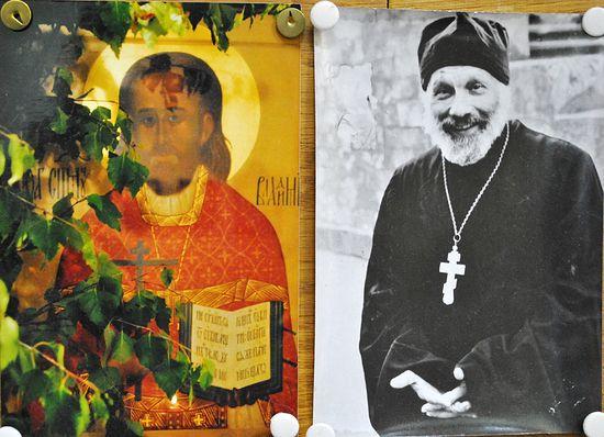 О. Глеб и свщмч. Владимир Амбарцумов - его духовный отец.