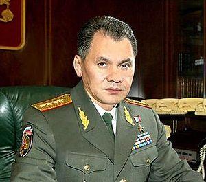 Министр обороны РФ С. Шойгу