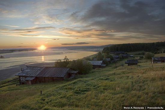 Село Усть-Нерманка. Фото: Антон Поспелов / Православие.Ru