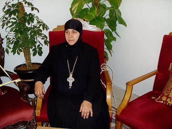 Настојатељица манастира свете равноапостолне Текле у Малули, мати Пелагија (Сајаф)