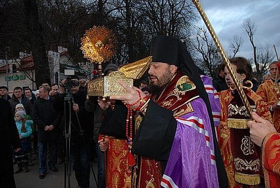 Встреча святыни во Львове. Епископ Львовский и Галицкий Филарет