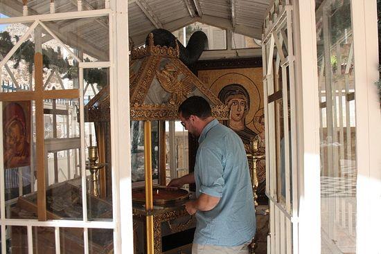В монастыре святой Феклы. Сентября 2013 г.