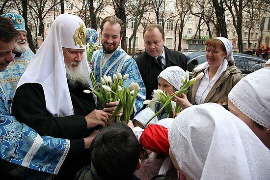 Патриаршее служение в день праздника иконы Божией Матери «Всех скорбящих Радость» 6 ноября 2008 г.