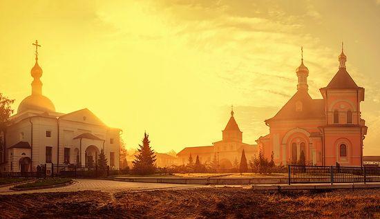 Оптина пустынь. Фото: Мария Мономенова / Переправа.Org
