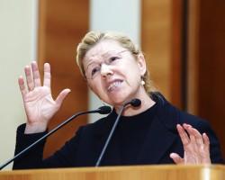 Елена Борисовна Мизулина. Фотография, размещённая в новости на РБК