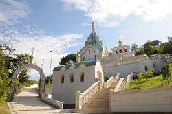 Православный храм святой великомученицы Екатерины в Риме. Фото с сайта храма www.stcaterina.org
