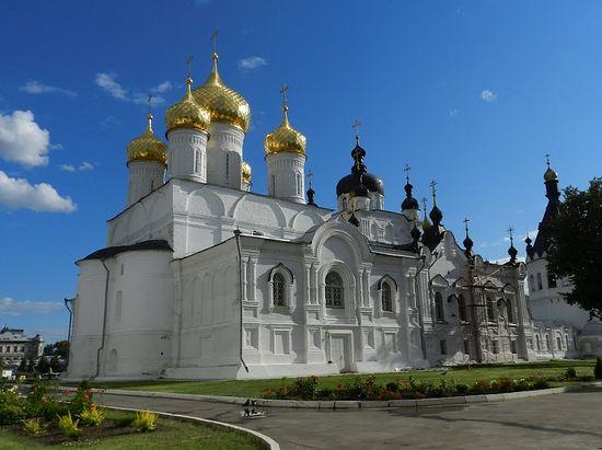 Кострома. Богоявленский собор Анастасиино-Богоявленского монастыря