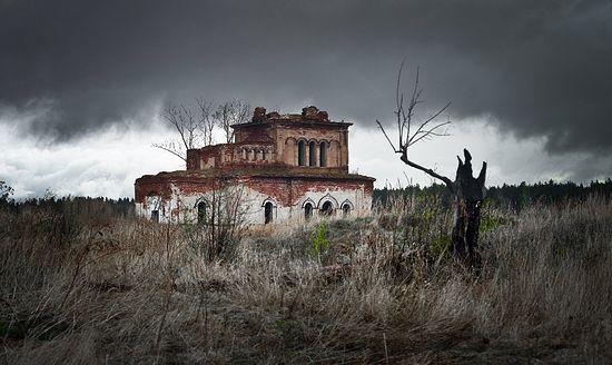 Церковь Покрова Пресвятой Богородицы, не жилое село Свобода, Челябинская область.