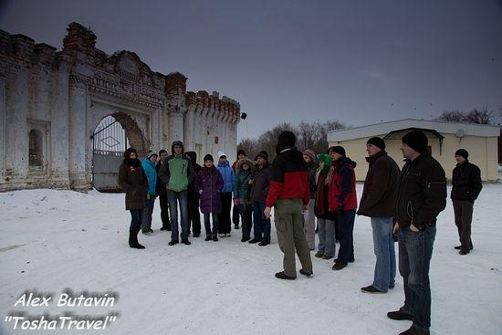 Одна из поездок, в Долматово.