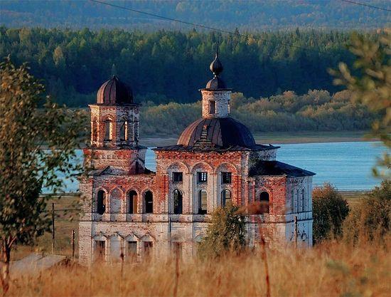 Республика Коми, деревня Ляли, Церковь Богоявления Господня, 1857.