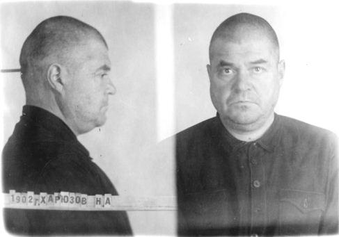 Отец Николай. Тюремная фотография