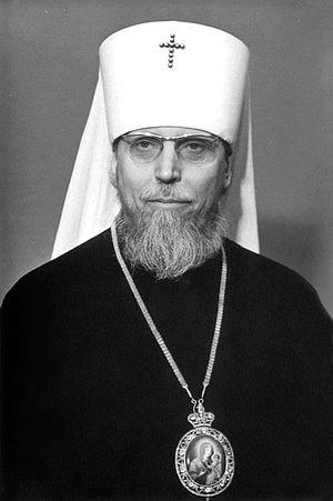 Митр. Антоний (Мельников), фотография 1970-х гг.