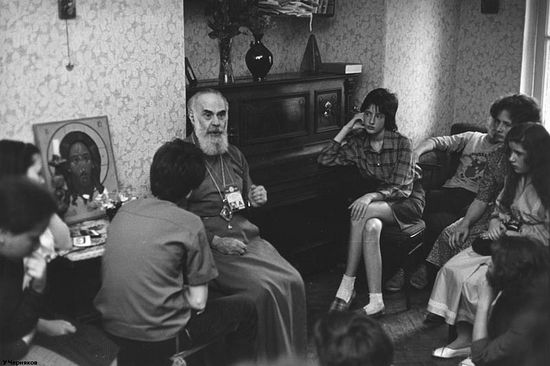 Встреча с митрополитом Антонием