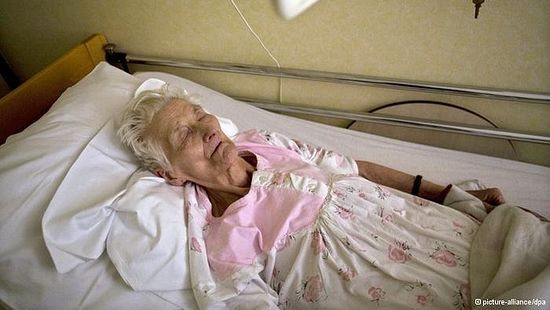 93-year-old Belgian Amelie Van Esbeen went on a hungerstrike because her request for euthanasia was denied