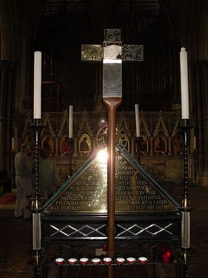 Cross of St Birinus in the Winchester Cathedral. Photo: I. Lapa.