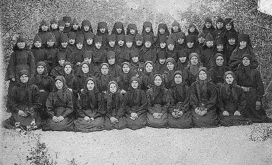 The sisters of the Convent.