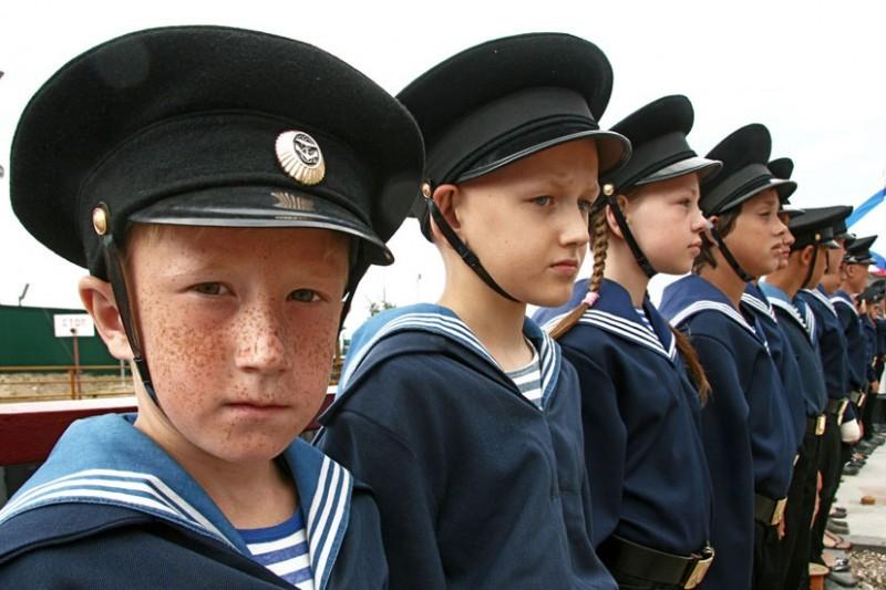Браћа и сестре.  Фото: Алексеј Колосов