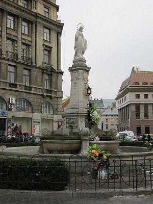Статуя Богородицы, Львов
