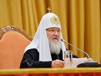 Патриарх Кирилл: Отрицание границ добра и зла – смертельный яд для общества