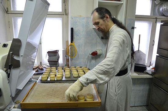 Игуман Кипријан на послушању. Фото: јером. Игњатије (Шестаков)