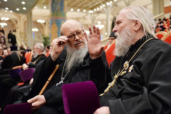 Протоиереи Сергий Правдолюбов и Георгий Бреев
