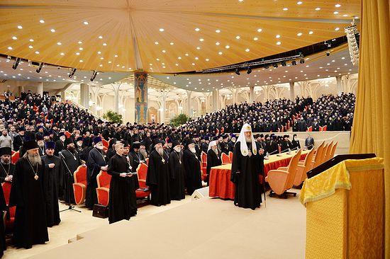 Епархиальное собрание духовенства города Москвы. 20 декабря 2013 года