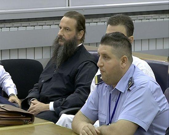 Архиепископ Охридский Иоанн на скамье подсудимых