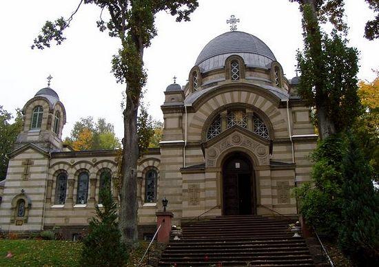 Здание церкви преподобного Сергия Радонежского. Берлин.