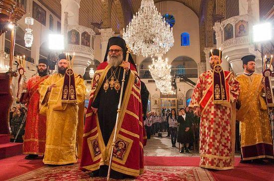 Дамаск, 25 декабря 2013 г., праздничная Литургия