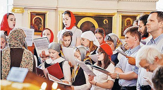 Ее главной целью учредители считают выпуск благовоспитанных православных патриотов, образованных и физически развитых молодых людей. Фото: Денис АРЦИБАШЕВ.