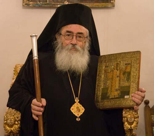 Архиепископ Синайский и Фаранский Дамиан