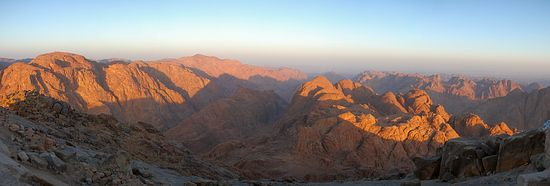 Dawn on Sinai
