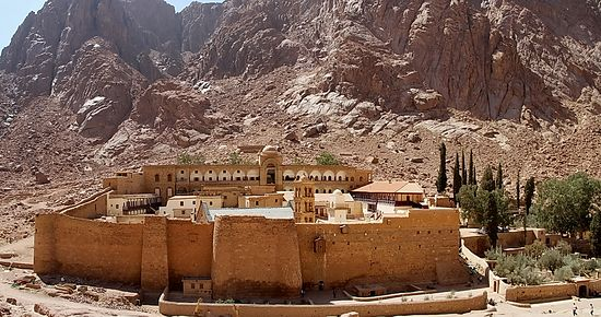 The Monastery of Mt. Sinai