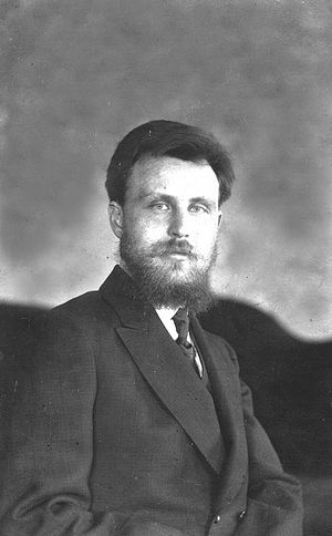 Vladimir Alexeyevich Troitsky -- instructor at the Moscow Spiritual Academy