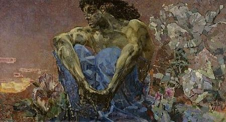 Mikhail Vrubel - Demon. Source: Wikipedia.org