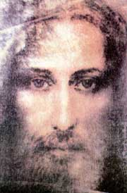 Christ the Savior, reconstructed from the Shroud of Turin NASA