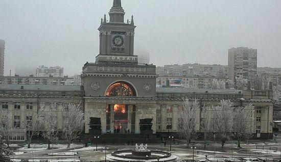 Взрыв на вокзале Волгограда