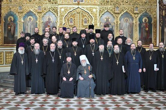 Духовенство Эстонской Православной Церкви.