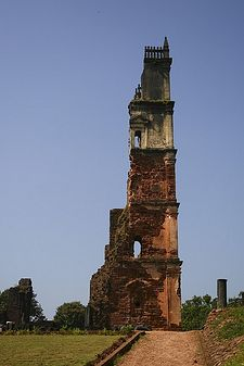 Ruins of Church of St. Augustine in Goa