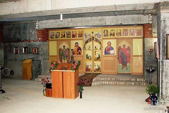 Интерьер храма святителя Антония (Смирницкого).