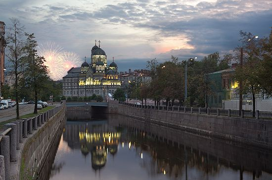 Monastery of St. John, St. Petersburg. Photo: AlexDarkside / photosight.ru