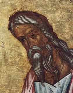 The holy prophet Malachi
