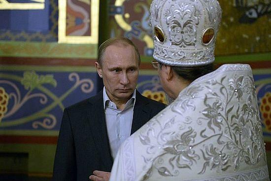 Са старешином храма, архимандритом Флавијаном (Осколковом)