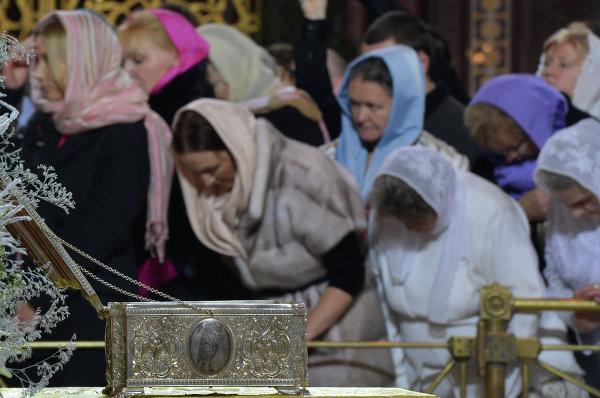 Рождественское богослужение в храме Христа Спасителя. © РИА Новости. Владимир Астапкович